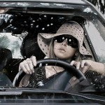 """Hyperrealistic paintings from """"Women at the wheel"""" collection, by Italian artist Francesco Capello"""