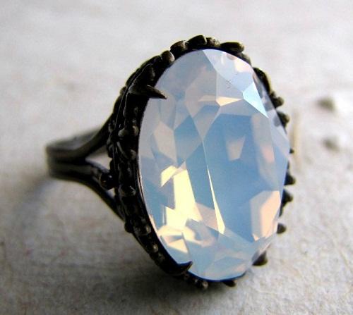 Transperent opal