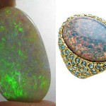 Green opals