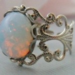 Silver and Opal