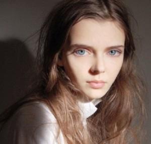 One-of-a-kind fashion model Masha Tyelna