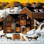 Winter scenes by Charles Wysocki