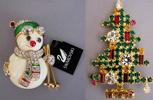 Christmas Brooches And Pins.Beauty Will Save The World