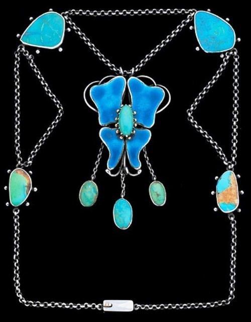 Charles Robert Ashbee. Guild of Handicraft Necklace.