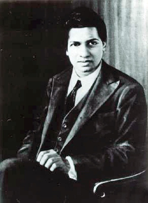 Indian maths genius Srinivasa Ramanujan