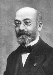 Dr. Zamenhof, creator of the artificial language