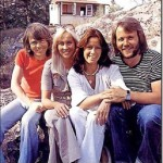 Happy together, four of ABBA