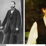 Gustav Faberge, Charlotte Feberge and young Carl Faberge