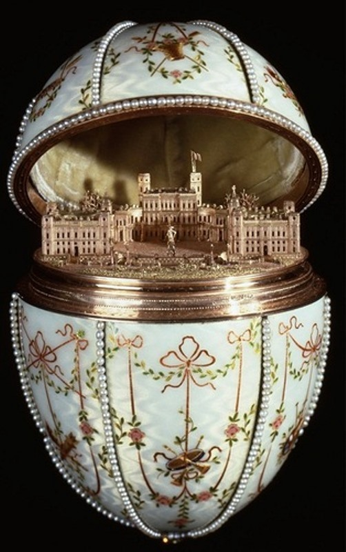 The Gatchina Palace Egg, made by House of Faberge, 1901