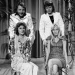 They were incredibly popular, ABBA