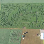 The Titanic corn field labyrinth