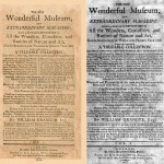 Cover of the New Wonderful Museum and Extraordinary Magazine, published in 1802, being a complete repository of all the wonders, curiosities and rarities of nature and art