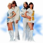 Looking awesome, the four of ABBA