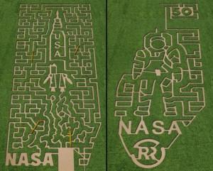 Nasa inspired labyrinth