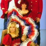 Red costumes, ABBA