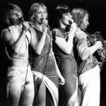 Singing on the stage, ABBA