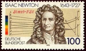 English physicist, mathematician, astronomer Isaac Newton