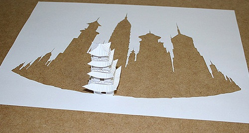 Small constructions against high buildings