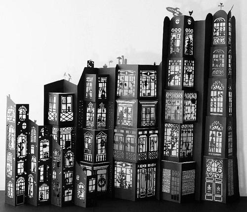Very attractive Architectures de papier exhibition in the Architecture Museum
