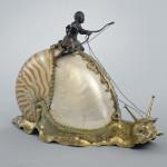 Art Work Snail with Nautilus Shell. Artist Jeremias Ritter (Master 1605–06, died 1646) German, Nuremberg