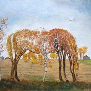 Autumn horse. 2012. Oil on canvas