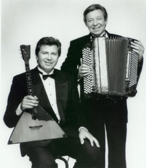 Balalaika virtuoso Sergey Vashchenko, Vladimir Kaliazine and Russian folk duo KALINKA