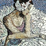 Ballerina. mosaic by American artist Laura Harris