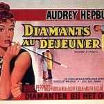 "French poster 1961 ""Breakfast at Tiffany's"""