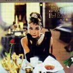 "Japanese poster 1961 ""Breakfast at Tiffany's"""