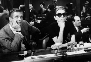 "Starring Peppard and Hepburn 1961 ""Breakfast at Tiffany's"""