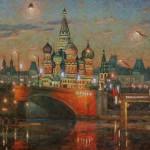 Moscow streets by Igor Razzhivin