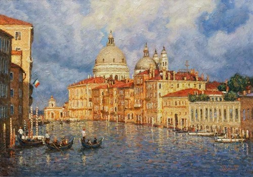After rain. Venice. 2011. Oil on canvas