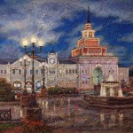 Kazan railway station. 2009. Igor Razzhivin