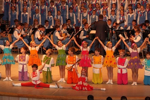 Children's Ensemble of song and dance named after Loktev