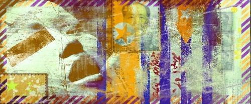 Chinese memories. Creative art by German artist NuKuZu