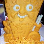 Creative cheese sculpture by American artist Sarah Kaufmann
