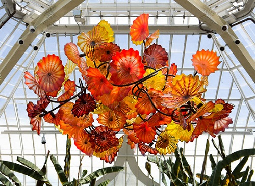 Beautiful Glass gardens by Dale Chihuly