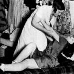 Poor woman, she is nearly dead. Dance marathon