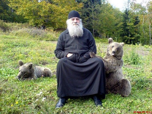 Just Orthodox monks