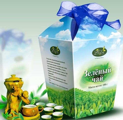 Porcelain set for Green Tea