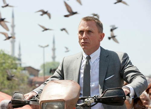 Cool agent James Bond
