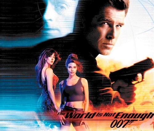 Movie poster. James Bond