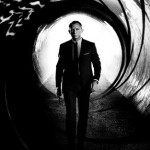 Iconic image of James Bond (Daniel Craig)
