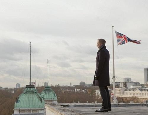 British actor Daniel Craig