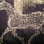 Jeffrey the Pegasus – 3200 pieces of aluminum, suspended on almost 1000 lines. Illuminates and flickers under the influence of lights and air currants leaving the spectator mesmerized