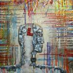 . Artwork by Kazakhstan artist Timur Akanaev