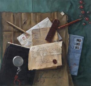 Hyperrealistic painting by Russian-Macedonian artist Konstantin Kacev
