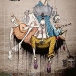 Musicians. MOST Moscow Street Art Festival