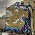 Sea wave. MOST Moscow Street Art Festival