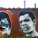 Graffiti art. MOST Moscow Street Art Festival